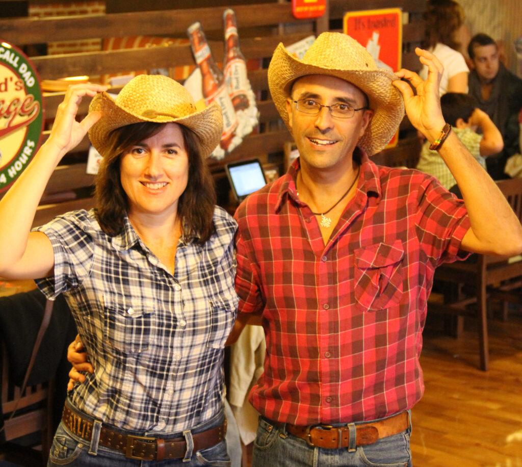 Clases de country line dance en Valencia. Justo y Maria Jose. JustoyMjose